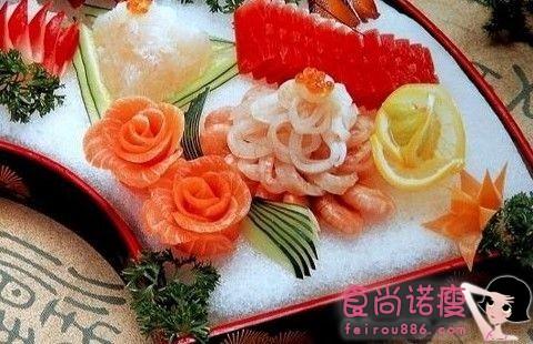 秋季仍吃海鲜配水果 小心腹泻