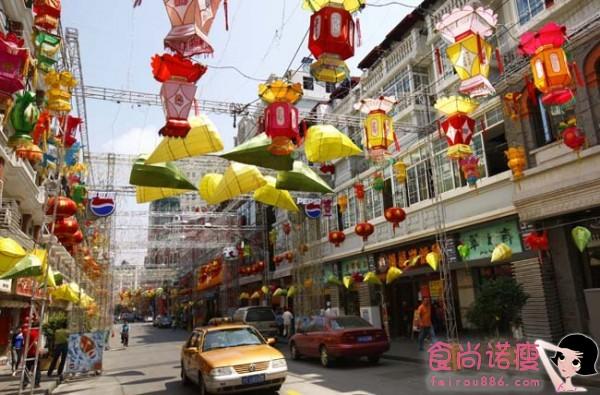 上海美食一条街