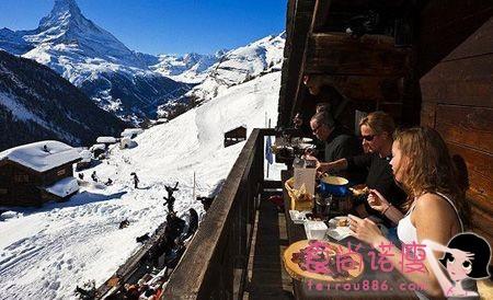 世界上十大雪山餐厅